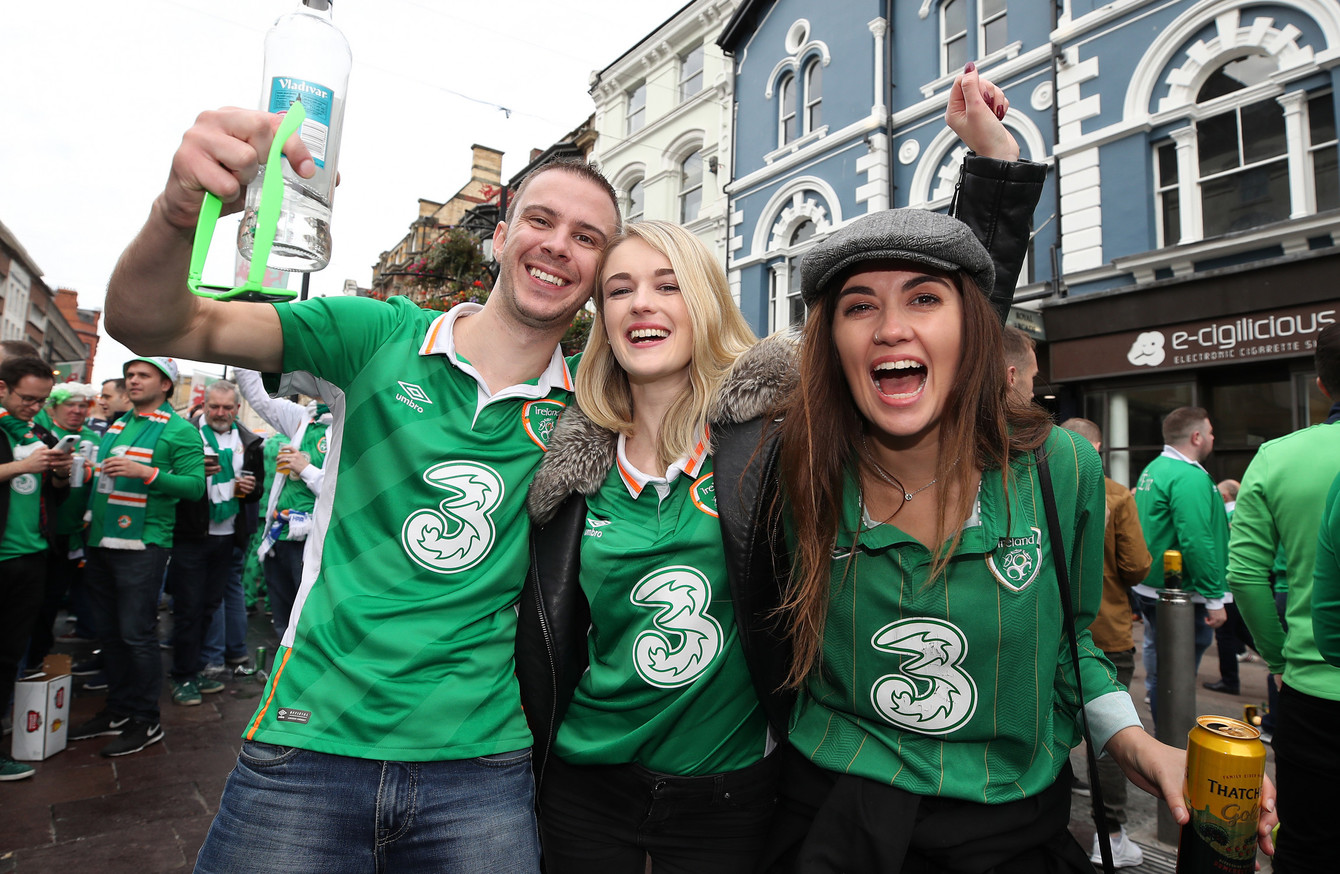irish ireland fans fertile young republic cardiff wales peers almost european than october thejournal ie