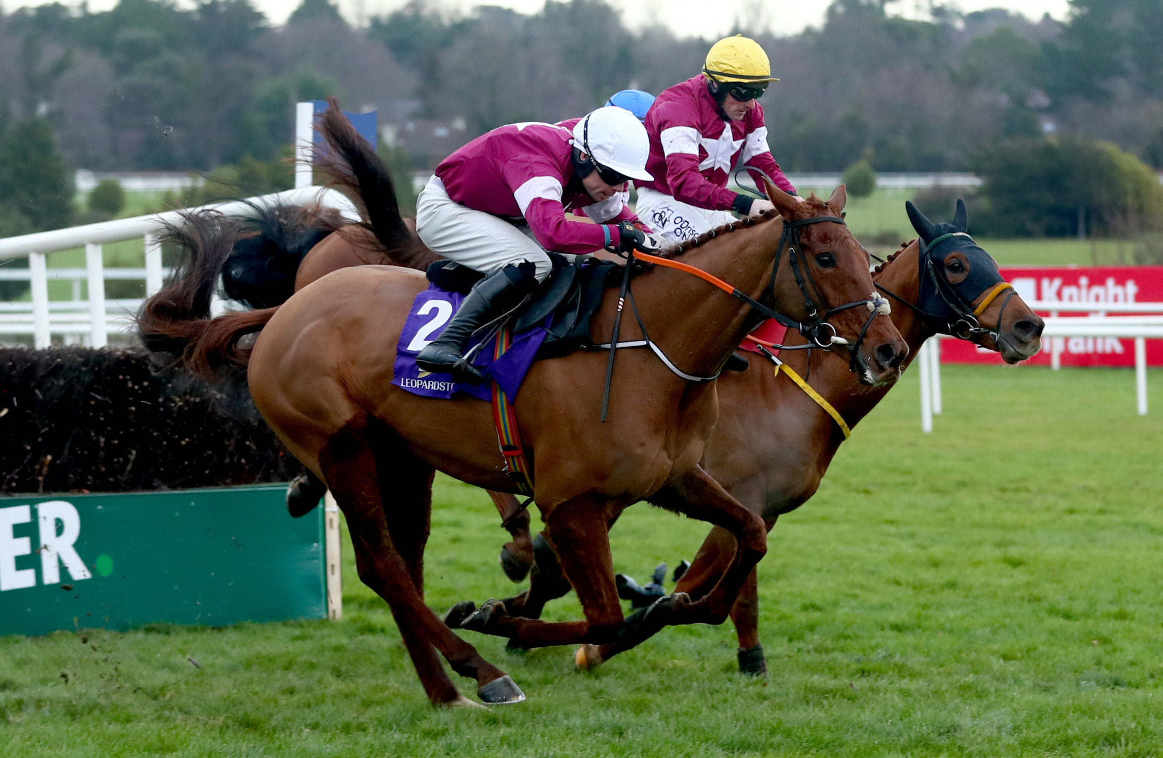 Big Shock In Leopardstown Christmas Chase As Michael O Leary Horses Finish 1 2 3