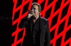Bono said that music has become 'very girly' and a lot of people aren't happy about it
