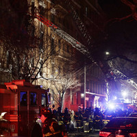 At least 12 people, including four children, killed in New York apartment fire