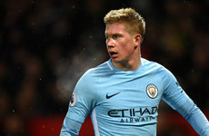'At Barcelona we had it with Messi and this team Manchester City have it with De Bruyne'