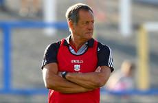 John Meyler names his first starting line-up as Cork senior hurling manager