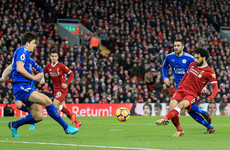 As it happened: Liverpool v Leicester, Premier League