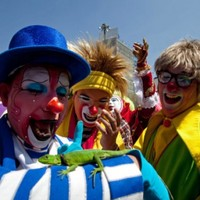 In photos: annual clown convention heads to Mexico
