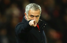 Mourinho questions referee Pawson's 'disappointing' non-penalty call