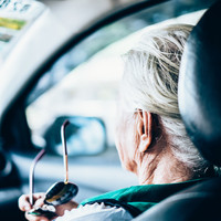 Woman in her 70s stopped man from stealing car by getting into passenger seat