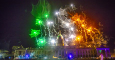 PICTURES: Dublin was lit up last night as the city rang in the New Year