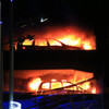 Every single car in 1,600-capacity Liverpool car park destroyed in New Year's Eve blaze