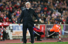 Pressure mounts on Mark Hughes as Stoke slip up again