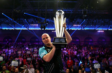 New era! Debutant Rob Cross upsets 16-time world champion Taylor's fairytale ending