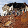 'They have nowhere else': Sierra Leone mudslide victims move back to homes in danger zone