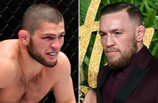 Conor McGregor and 'dog s**t' Khabib Nurmagomedov trade verbal blows