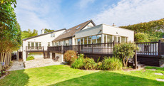 Explore this sprawling luxury Dublin villa that comes with its own log cabin