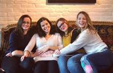 America Ferrera reunited with her Sisterhood of the Travelling Pants co-stars for a cute pregnancy picture