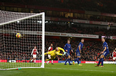 Late drama sees Arsenal claim point against Chelsea in Premier League thriller