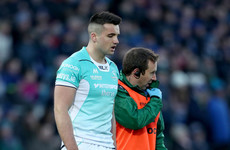 Connacht rule Kelleher out of Munster clash with head injury