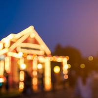 A charity box at a festive lights display was stolen in a Cork village on Christmas Eve