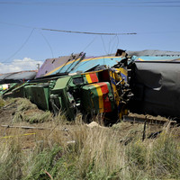 14 dead and 190 injured after train ploughs into truck in South Africa