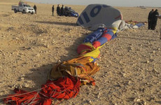 Tourist killed in Egyptian hot air balloon crash