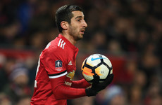 'He didn't deserve it' - Mourinho apologises for Mkhitaryan's half-time substitution