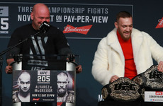 Defend or vacate: White gives McGregor deadline to put UFC title up for grabs