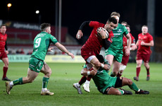 Murray double helps Munster end inter-pro woe in convincing 5-try win over Connacht