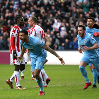 Pressure mounts on Hughes after Stoke go down to League Two opposition