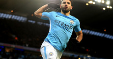 Aguero's quick-fire double seals City's comeback as Newcastle and West Brom safely advance