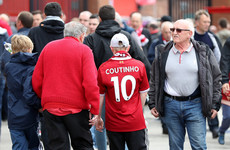Liverpool offer fans compensation on Coutinho shirts