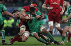 'We got a bang on the nose': Connacht's second 40 frustrates Keane