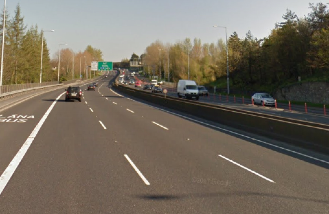 Driver killed after car crashes into wall on Dublin's N4