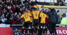Stunning FA Cup upset as Padraig Amond's Newport County dump out Leeds