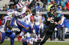 Jaguars edge past Bills to set-up Steelers showdown in NFL playoffs