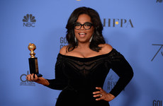 Oprah declares 'new day' for women in campaign-like Golden Globe speech