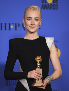 'I'm putting this down, it's too heavy' - Night of triumph as Saoirse finally gets her gong