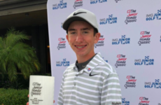 Make mine a double! Ireland's teen sensation wins second major US tournament