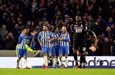 Super-sub Murray bundles home late winner as Brighton progress in all-Premier League FA Cup tie