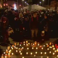 Over 1,000 people turn out for candlelight vigil in Dundalk for murdered Japanese man