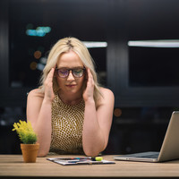 Women who work nights have a strikingly increased risk of getting cancer