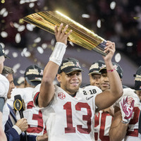 Alabama's National Championship hero won the game after nearly blowing their title hopes seconds before