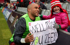 Racing confirm signing of Zebo ahead of crucial European showdown with Munster