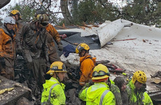 Thirteen people killed in Californian mudslides