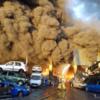 Giant blaze at Dublin metal plant now under control