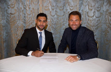 'I've been out of the ring for too long and I'm desperate to make up for lost time' - Khan signs with Hearn