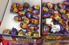 People have gone stone mad looking for those white chocolate Creme Eggs in the shops
