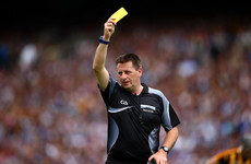 Four-time All-Ireland hurling final referee Brian Gavin hangs up his whistle
