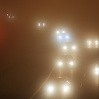 Number of flights diverted from Dublin Airport due to fog