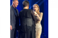 Celine Dion had a pretty sound reaction when she was faced with a stage invader