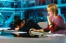 Watch: BBC presenter denies falling asleep on air