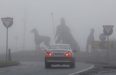 Heavy fog expected in most areas this evening as Orange Alert warning in place
